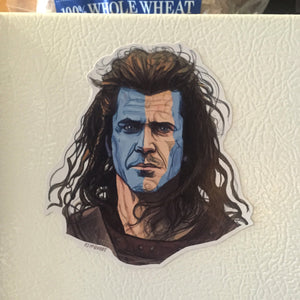 BRAVEHEART Fridge MAGNET!