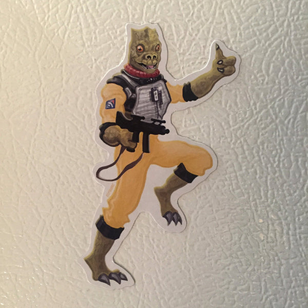 Bossk STAR WARS Fridge Magnet!