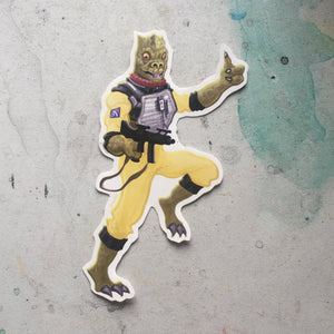 Bossk STAR WARS STICKER!