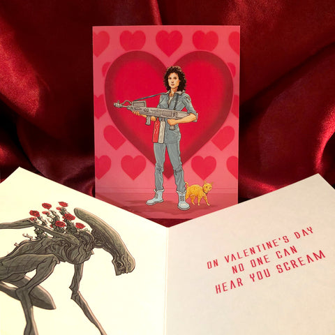 Ripley ALIEN Valentine's Day CARD!