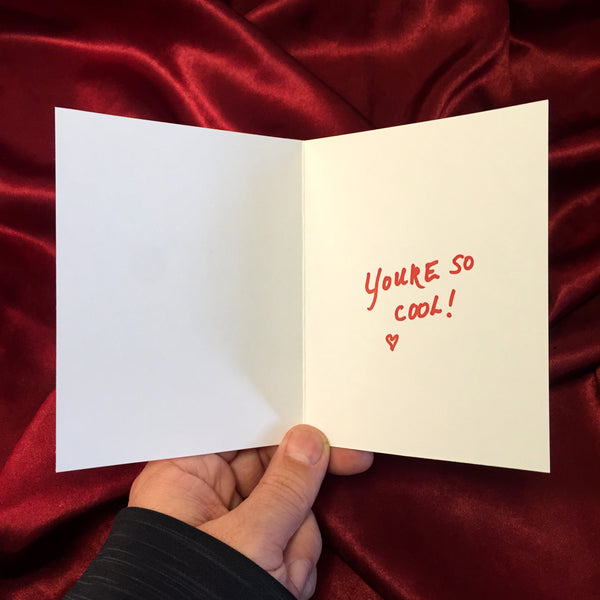 TRUE ROMANCE Valentine's Day CARD!