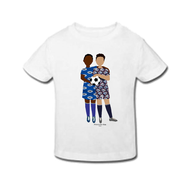 "T-shirt enfant ""Foot en wax"""