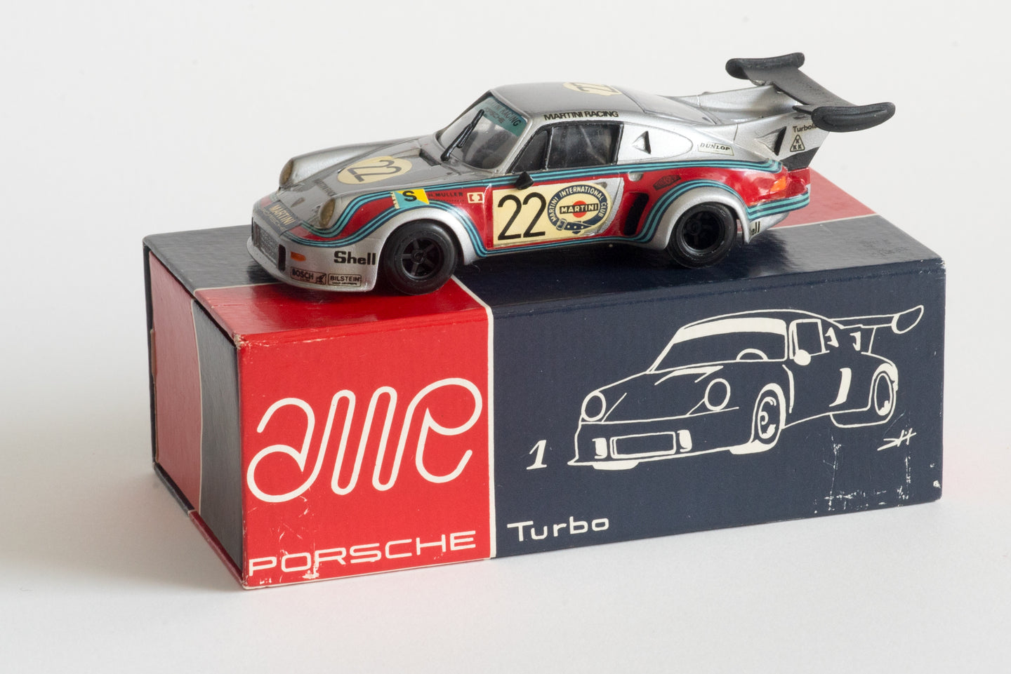 AMR First Factory Built Model - 1/43 Porsche Turbo RSR Le Mans 1974