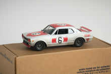 Load image into Gallery viewer, ARII - 1/32 Skyline GT-R KPGC10 Hakosuka Race Car - Painted and weathered.