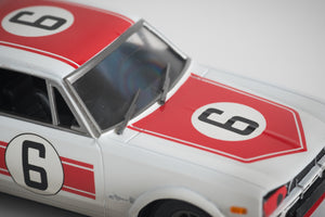 ARII - 1/32 Skyline GT-R KPGC10 Hakosuka Race Car - Painted and weathered.