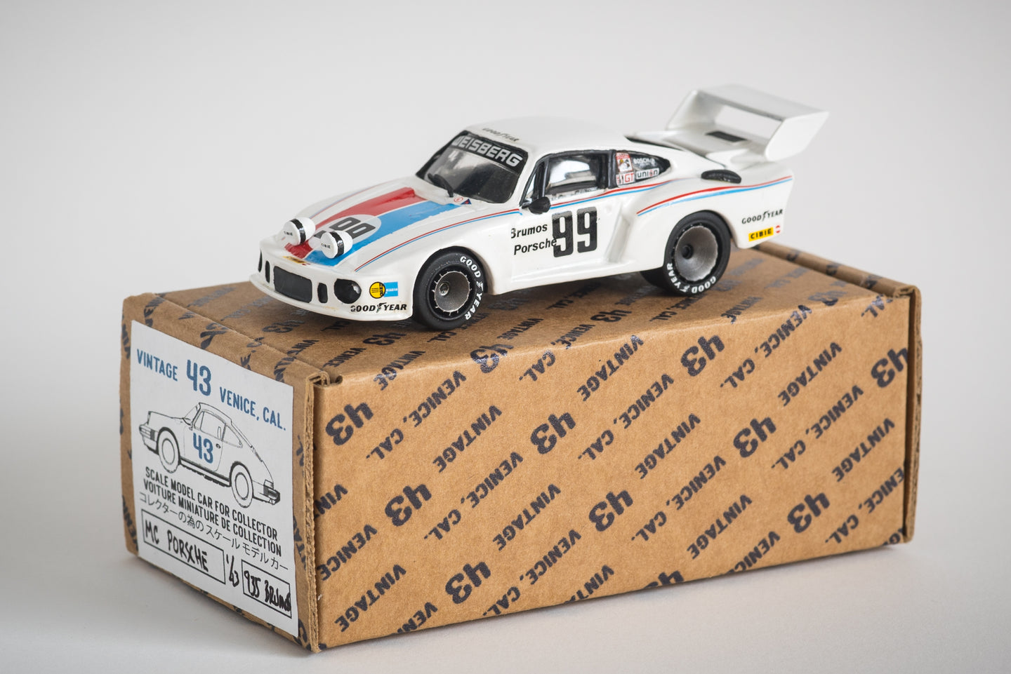 Minichamps  - 1/43 Porsche 935 Daytona Winner 1978