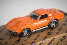 Load image into Gallery viewer, Vintage 43 Custom 1/64 Scale 1970's Orange Corvette