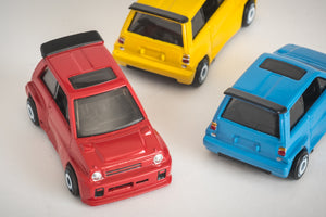 Vintage 43 Custom 1/64 Scale Honda City - Set of 3 different colors