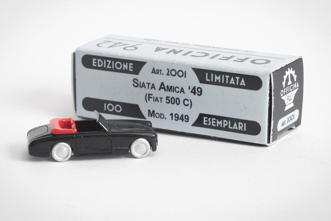 Officina 942 - 1949 Siata Amica 1/76 Scale Limited Edition