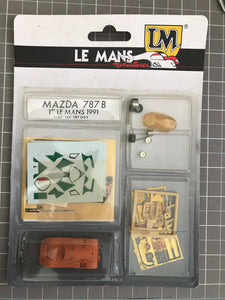 Le Mans Miniatures - 1/87 Mazda 787B 1991 Le Mans - Scale Model Kit
