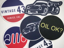Load image into Gallery viewer, Vintage 43 - Set of 6 Decals