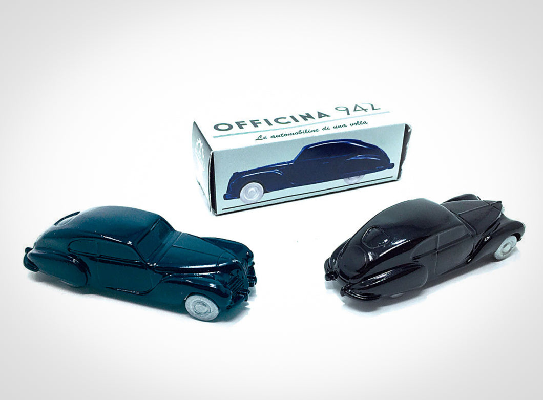 Officina 942 - 1939 Fiat 2800 Berlinetta Superleggera Touring 1/76 Scale Limited Edition