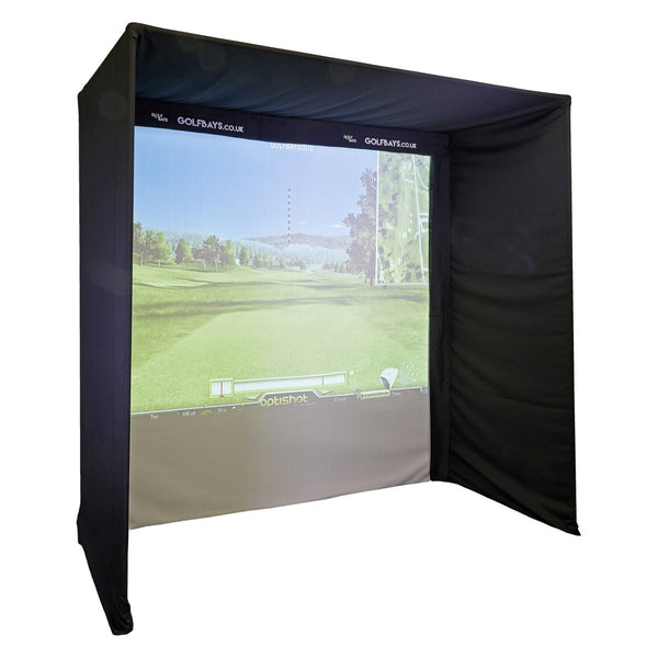 EASYSIM GOLF SIMULATOR ENCLOSURE - custom golf enclosures
