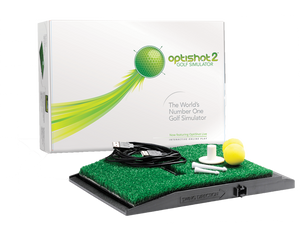 OPTISHOT 2 GOLF SIMULATOR - custom golf enclosures