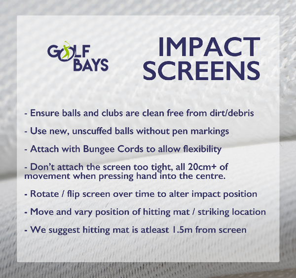 GolfBays LITE Impact Screen