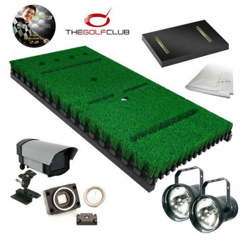 ProTee Base Pack 2 Golf Simulator with Putting Mat Sensor