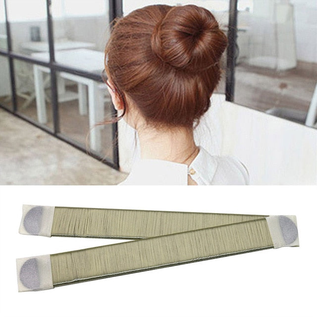Fashion Women Bun Maker Hair Accessories Hairstyle Dish
