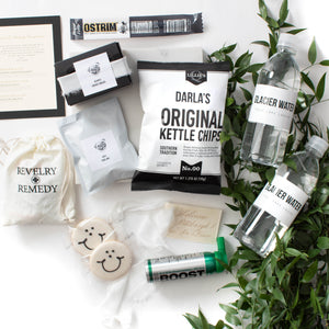 Behind the Ribbon: Lori + Vance Welcome Gifts