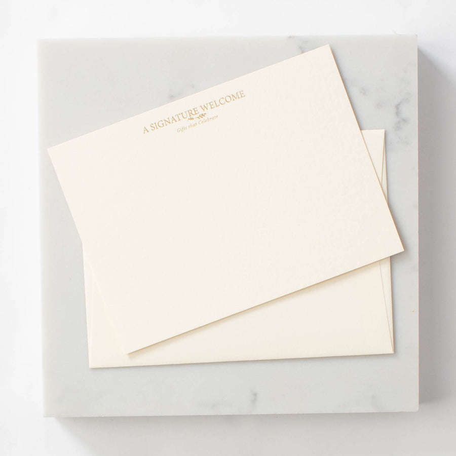 Custom Stationery Set of 150 (handwritten note option available)