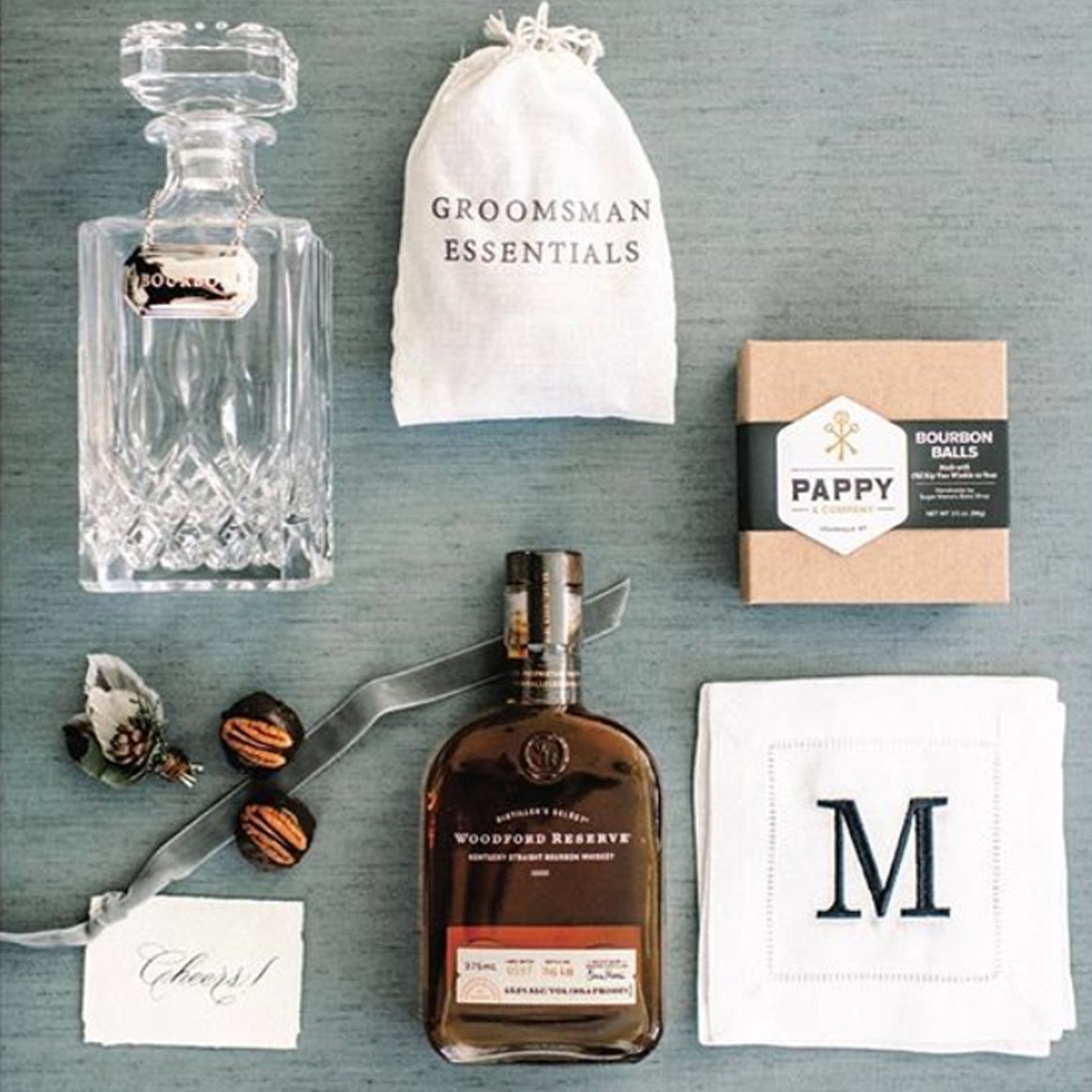 For the Groom or Groomsmen Essentials Kit