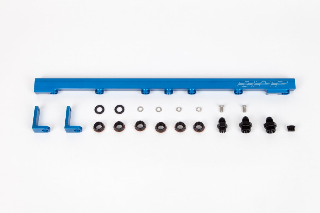 BPP 1JZ-GTE Fuel Rail - Blue