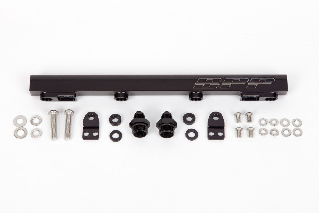 BPP Mitsi Evo Fuel Rail - Black