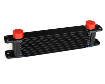 PWR Engine Oil Cooler - Plate & Fin 280 x 69 x 37mm (7 Row)