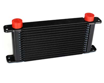 PWR Engine Oil Cooler - Plate & Fin 280 x 127 x 37mm (14 Row)