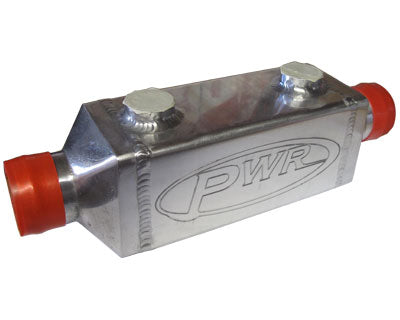 "PWR In-Line Engine Oil Coolers - 3"" x 6"" - 38mm (2 x -10 and -12 fittings)"