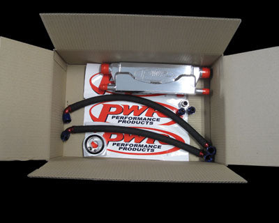 PWR In-Line Engine Oil Cooler Kit - Holden Commodore LS1 VT-VY