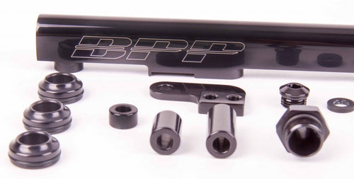 BPP RB25 Fuel Rail Kit - Black