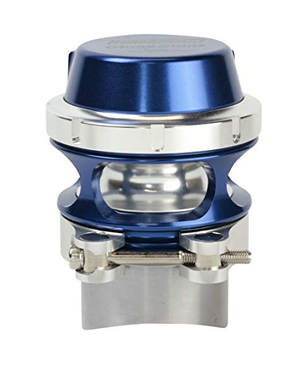 TURBOSMART BOV Race Port Female Blue No Weld Flange