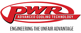 "PWR In-Line Engine Oil Coolers 12"" - 2"" x 3"" x 12"" - 38mm (2 x -10 Fittings, 2 x -12 Fittings, 2 x O'Rings)"