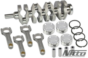 NITTO EJ25 2.6L STROKER KIT (H-BEAM RODS / 100.0MM BORE)