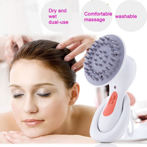 Electric Head Scalp Massager Brain Relaxation Relax Massager Headache Stress Relieve Prevent Hair Loss Health Care Product
