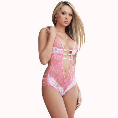 Women Sexy Nightwear Lingerie Lace Dress Underwear Babydoll Sleepwear G string