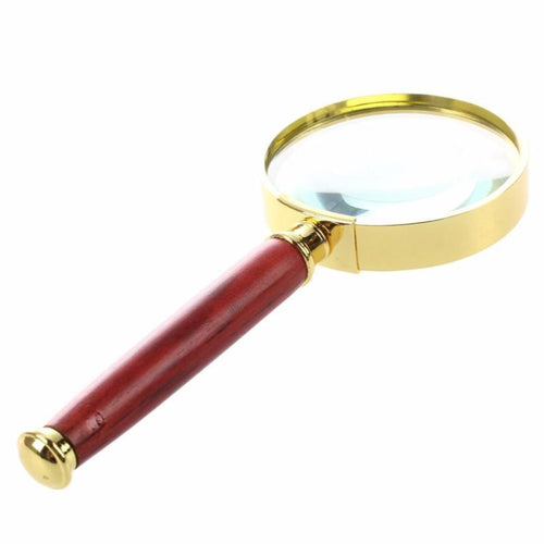 Handheld 20 X Magnifying Glass Magnifier Loupe 5 Size Old People Gifts