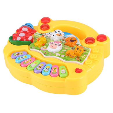 Baby Musical Educational Piano Toy Animal Farm Developmental Music Toys Kids Children Gifts