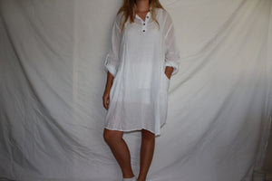 100 % Cotton Shirt / Dress Style D005