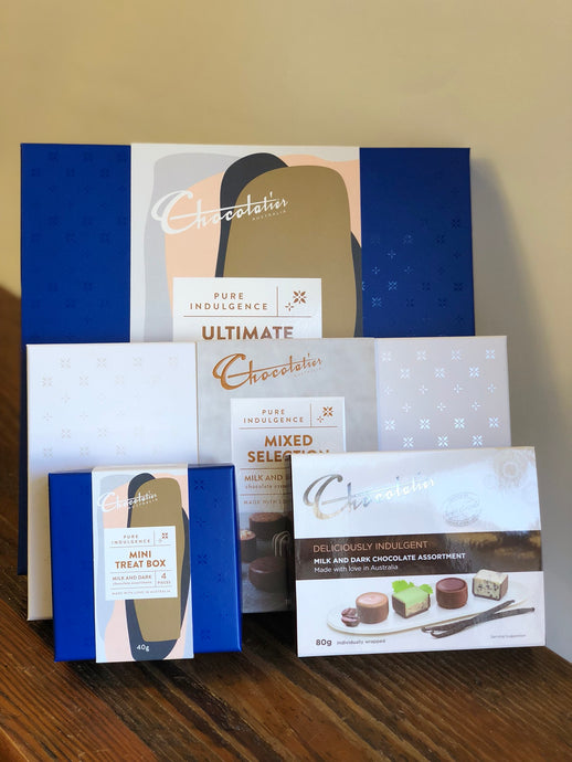 CHOCOLATE BOXES - from