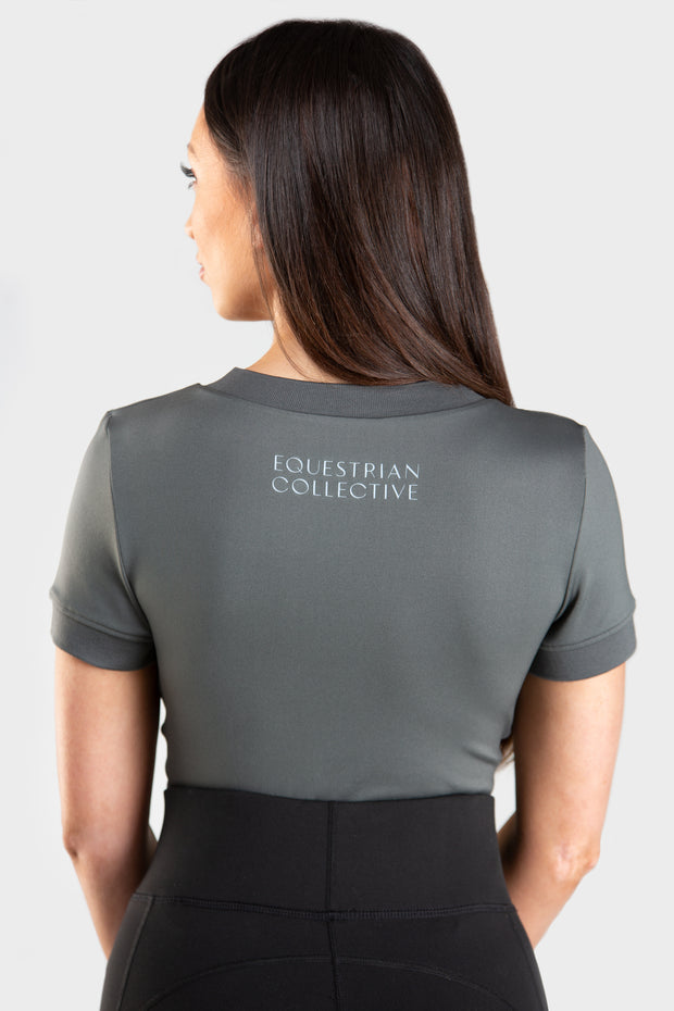 Short-sleeve Base Layer-Top-Equestrian Collective
