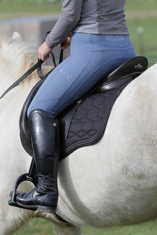 Honeycomb Technical Tights: Atlantic-Pants-Equestrian Collective