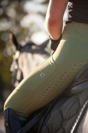 Honeycomb Technical Tights: Fern-Pants-Equestrian Collective