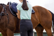 Honeycomb Technical Tights: Black | PREORDER-Pants-Equestrian Collective