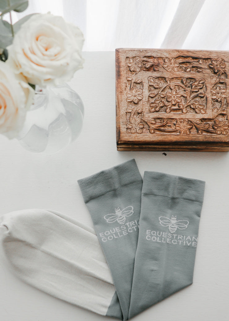 Ultra Thin Long Socks-Socks-Equestrian Collective