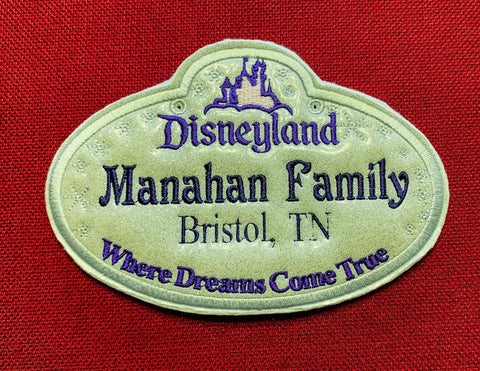 Magical Stroller Tags
