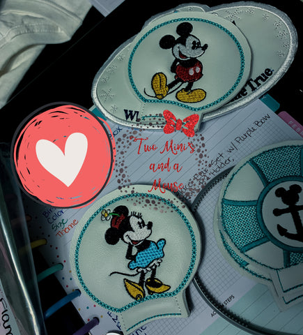 Mr and Ms Mouse Ear Set