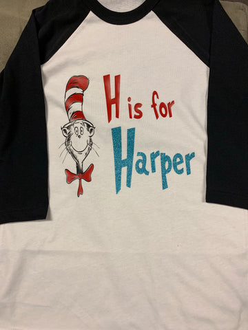 Cat in the Hat Alpha Tee