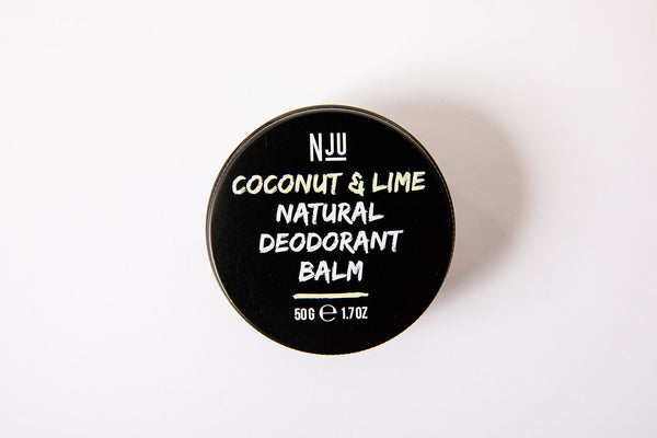 Nju Coconut & Lime Natural Deodorant Balm