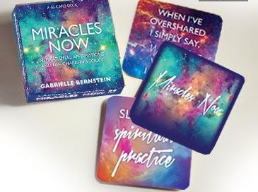 Miracles Now Affirmation Cards - Gabrielle Bernstein